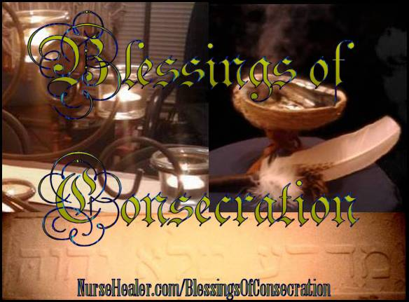 Blessings of Consecration