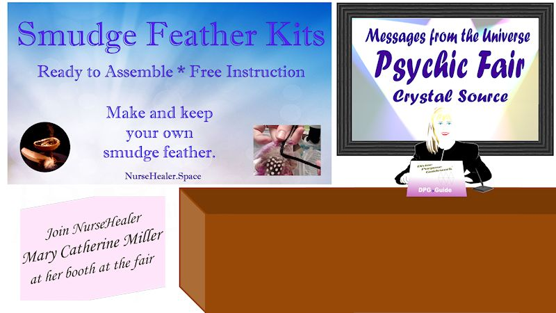 Smudge Feather Kits Booth