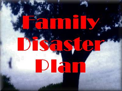 Family Disaster Plan Class
