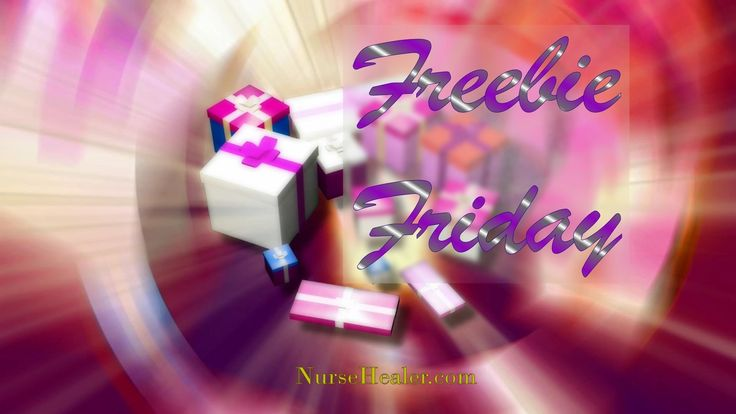 FREEBIES TOPIC Freebie Friday is a chance to get something nice absolutely FREE!